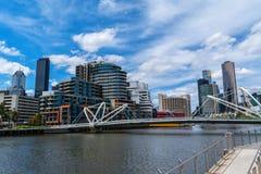 Seafarers bridge in Melbourne Royalty Free Stock Image