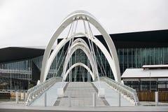 Seafarers Bridge over the Yarra River Stock Image