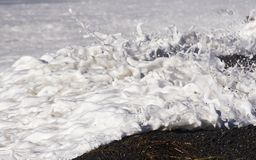 Seafoam 01 Royalty Free Stock Photo