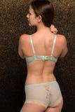 Seafoam lingerie Stock Photos