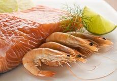 Seafood Royalty Free Stock Photos