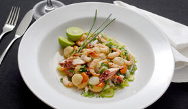 Seafood. Mostrar forma romanizada Royalty Free Stock Photography