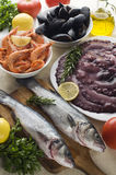 Seafood Royalty Free Stock Images