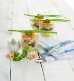 Seafood appetizer Stock Photos