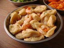 Chinese food Coated shrimp krupuk  Royalty Free Stock Image