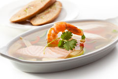 Seafood Aspic Stock Photography