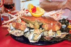 Seafood Banquet Stock Photos
