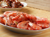 Seafood banquet Royalty Free Stock Photography