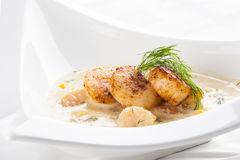 Seafood bisque Royalty Free Stock Photography