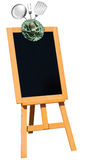 Seafood - Blackboard on Easel Stock Image