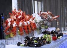 Seafood Buffet Stock Image