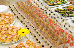 Seafood buffet Royalty Free Stock Photography