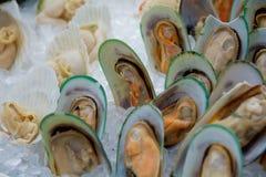 Seafood buffet Royalty Free Stock Photos