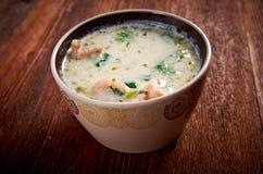 Seafood Chowder Stock Image