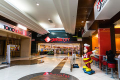 Seafood City, Jollibee and Tokyo Tokyo restaurants Stock Photography