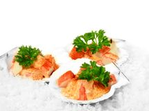 Seafood Cocktail 3 Royalty Free Stock Image