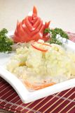 Fresh and tasty seafood cuisine royalty free stock image