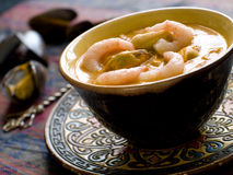 Seafood curry Stock Images
