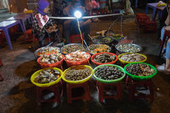Seafood dalat royalty free stock image