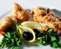 Seafood - Deep-Fried Shrimp Royalty Free Stock Photos