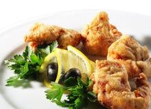Seafood - Deep-Fried Shrimp Stock Photos