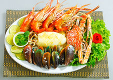 Seafood dish Stock Photography