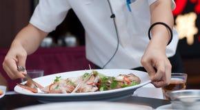Seafood Dish Royalty Free Stock Photos