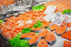 Seafood Royalty Free Stock Photo