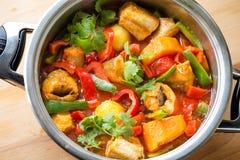 Seafood - Fish Stew `Caldeirada de Peixe` Royalty Free Stock Photo