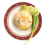 Seafood fried rice. Stock Images
