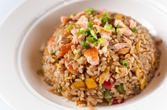 Seafood Fried Rice. Chinese cuisine Stock Images