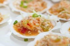 Seafood jamabalaya Royalty Free Stock Photography