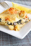 Seafood lasagne Royalty Free Stock Photography