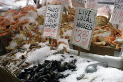 Seafood Market 3 Royalty Free Stock Photo