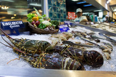 Seafood. Market in Pattaya, Thailand Stock Photography