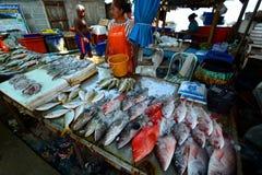 Seafood market. Rawai. Phuket. Thailand Royalty Free Stock Photography