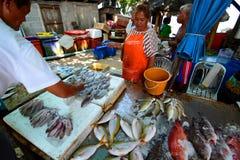 Seafood market. Rawai. Phuket. Thailand Stock Photography