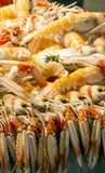 Seafood in a market Royalty Free Stock Image