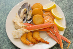 Seafood Medley Stock Photo