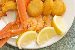 Seafood Medley Stock Images