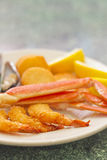 Seafood Medley Royalty Free Stock Images