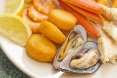 Seafood Medley Royalty Free Stock Image