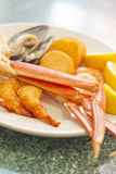 Seafood Medley Royalty Free Stock Photos