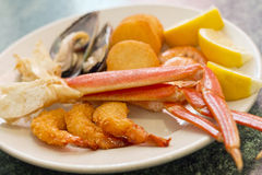 Seafood Medley Stock Image