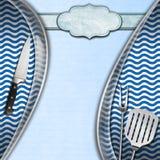 Seafood - Menu Template Stock Image