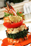 Seafood mix Stock Image