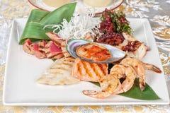 Seafood mix Stock Photos