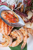 Seafood mix Royalty Free Stock Photography