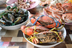 Seafood mix  ,Thailand Stock Photography