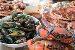 Seafood mix  ,Thailand Royalty Free Stock Photography